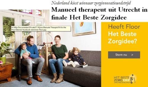 Beste Zorgidee van Nederland. Breng uw stem!